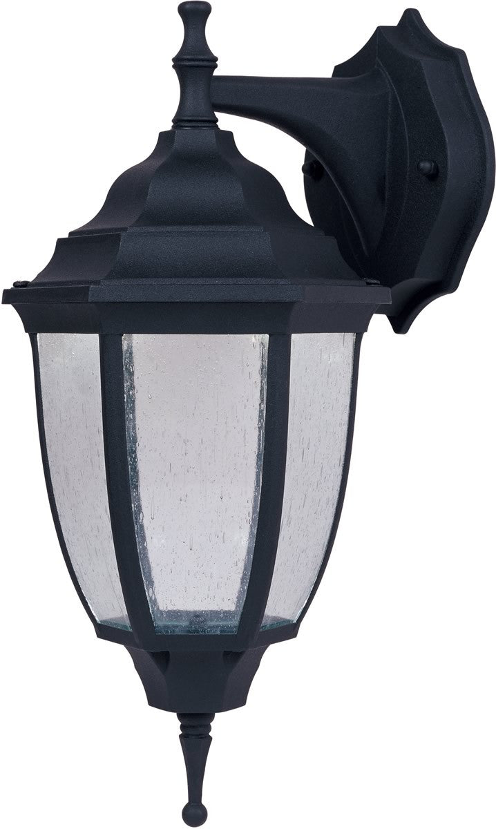 "14""H LexingtonWall Lantern Black"