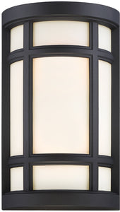 Logan Square 2-Light Wall Sconce Black