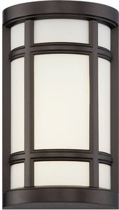 Designers Fountain Logan Square -Light Wall Sconce Burnished Bronze LED33821-BNB