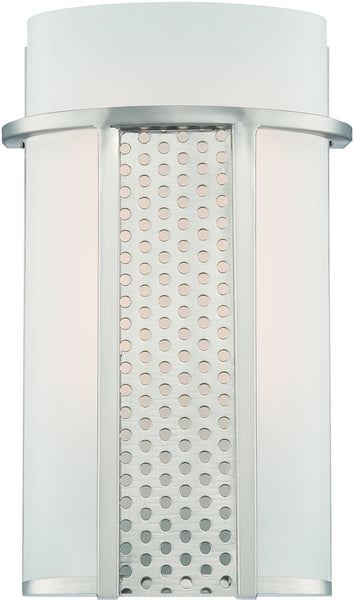 Designers Fountain Lucern LED Wall Sconce Satin Platinum LED6050SP