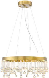 Designers Fountain Lucienne -Light Pendant Luxor Gold LED88134-LXG