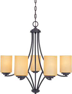 Designers Fountain Marbella 5-Light Chandelier Oil Rubbed Bronze 83285ORB