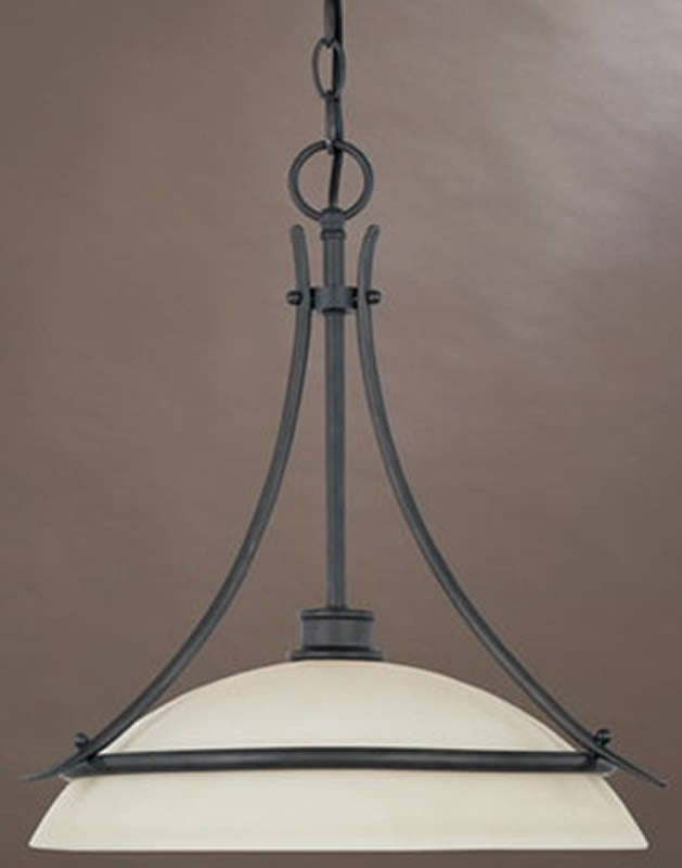 "18""w Montego 1-Light Pendant Oil Rubbed Bronze"