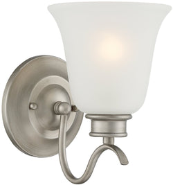 Designers Fountain Montego 1-Light Wall Sconce Matte Pewter 96901-MTP