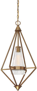 Designers Fountain Montelena 1-Light Pendant Old Satin Brass 88951-OSB
