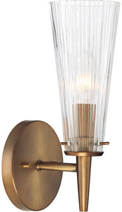 Montelena 1-Light Wall Sconce Old Satin Brass
