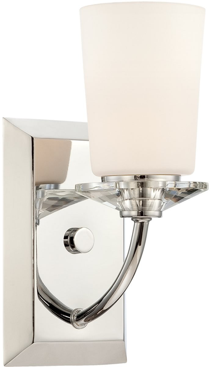 "6""w Palatial 1-Light Wall Sconce Chrome"