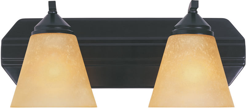 "17""W Piazza 2-Light Vanity Oil Rubbed Bronze"