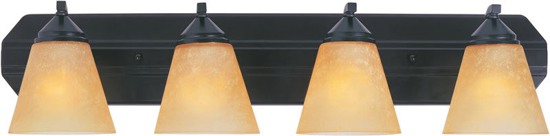 "30""w Piazza 4-Light Vanity Oil Rubbed Bronze"