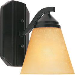 Piazza 1-Light Wall Sconce Oil Rubbed Bronze