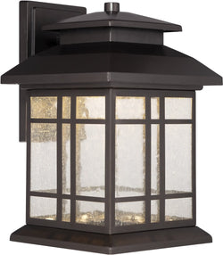 Designers Fountain 6 inchw PiedmontWall Lantern Oil Rubbed Bronze LED33421ORB