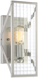 Pivot -Light Wall Sconce Satin Platinum