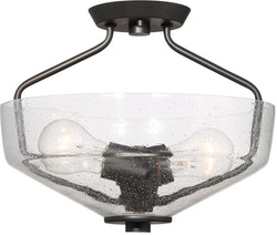Designers Fountain Printers Row -Light Semi Flush Mount Oil Rubbed Bronze 88011-ORB