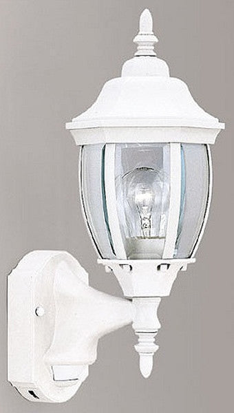 Designers Fountain Motion Detection Outdoor Security Wall Lantern White 2420MDWH