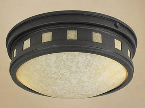 Designers Fountain Sedona 1-Light Flush Mount Oil Rubbed Bronze ES2375AMORB