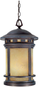 Sedona 3-Light Outdoor Pendant Mediterranean Patina