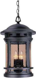 Designers Fountain Sedona 3-Light Outdoor Pendant Oil Rubbed Bronze 2394ORB