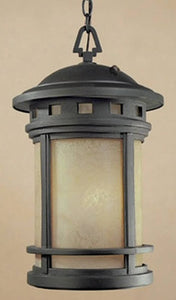 Designers Fountain Sedona 1-Light Hanging Outdoor Lantern Oil Rubbed Bronze ES2394AMORB