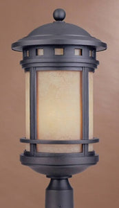 Designers Fountain Sedona 3-Light Outdoor Post Light Oil Rubbed Bronze 2396AMORB