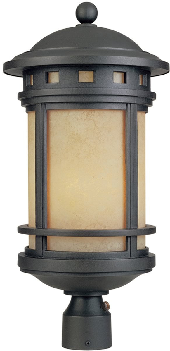 Sedona 1-Light Outdoor Post Light Oil Rubbed Bronze