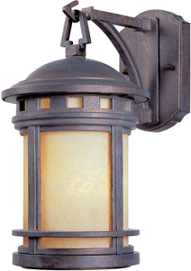 Designers Fountain Sedona 1-Light Wall Lantern Mediterranean Patina 2370AMMP