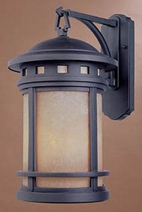Designers Fountain Sedona Outdoor Wall Lantern Oil Rubbed Bronze 2371AMORB