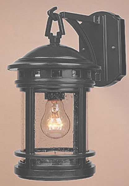 Designers Fountain Sedona Outdoor Wall Lantern Oil Rubbed Bronze 2371ORB