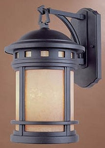 Designers Fountain Sedona Outdoor Wall Lantern Oil Rubbed Bronze 2381AMORB