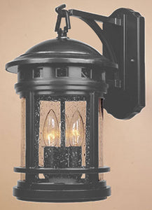 Designers Fountain Sedona Outdoor Wall Lantern Oil Rubbed Bronze 2381ORB