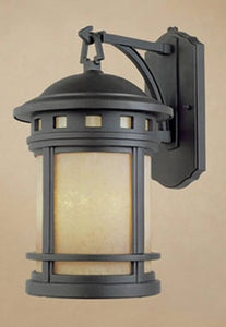 Designers Fountain Sedona 1-Light Wall Sconce Oil Rubbed Bronze ES2381AMORB