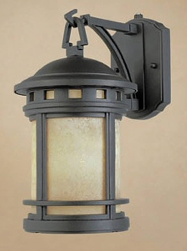 "20""H Sedona 1-Light Wall Sconce Oil Rubbed Bronze"