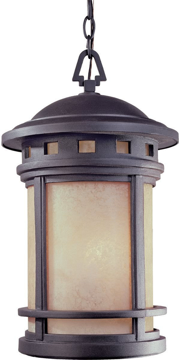 "11""w Sedona 3-Light Outdoor Hanging Lantern Oil Rubbed Bronze"