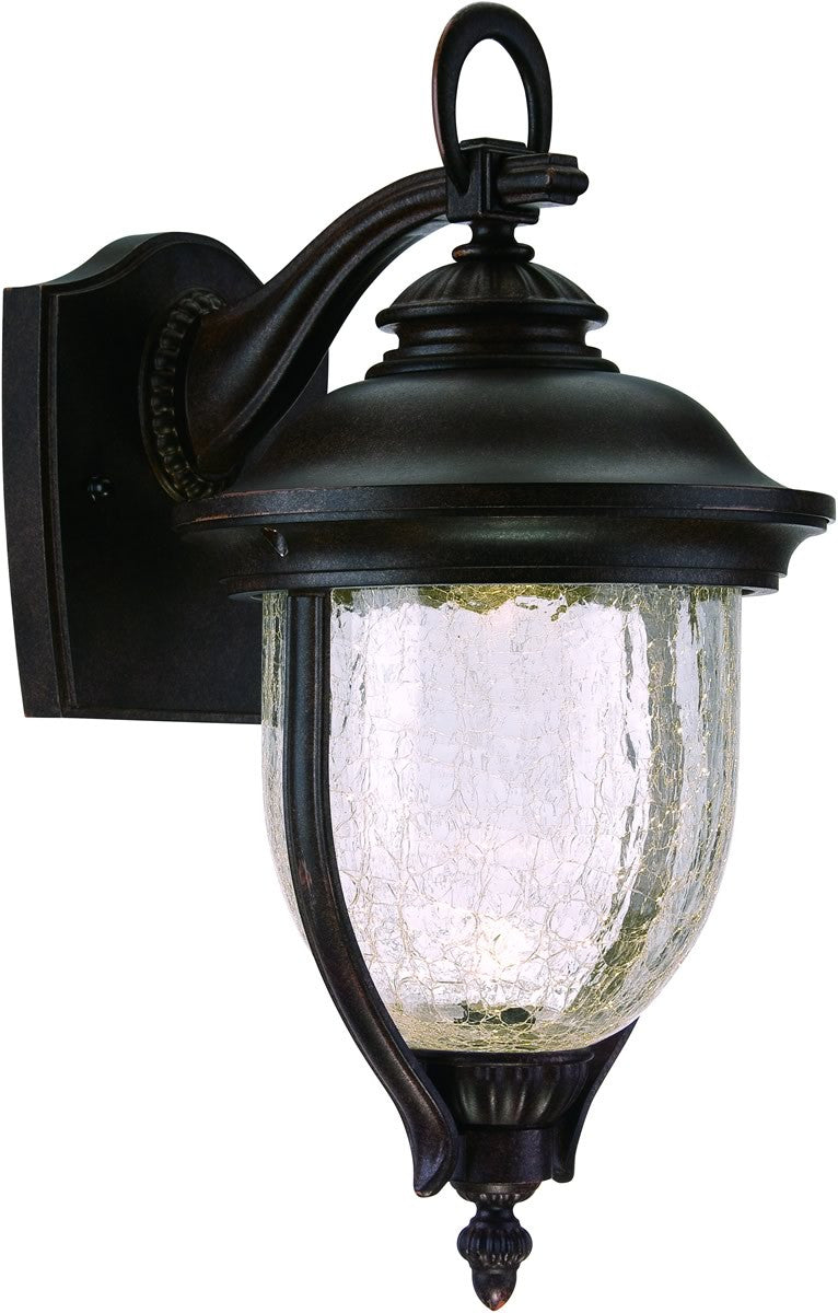 "14""h Sheffield LED Outdoor Wall Lantern Mystic Bronze"