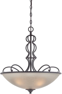 Designers Fountain Tangier 3-Light Pendant Natural Iron 85531-NI