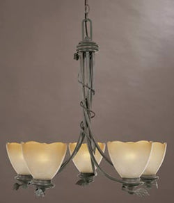 Designers Fountain Timberline 5-Light Chandelier Old Bronze 95685OB