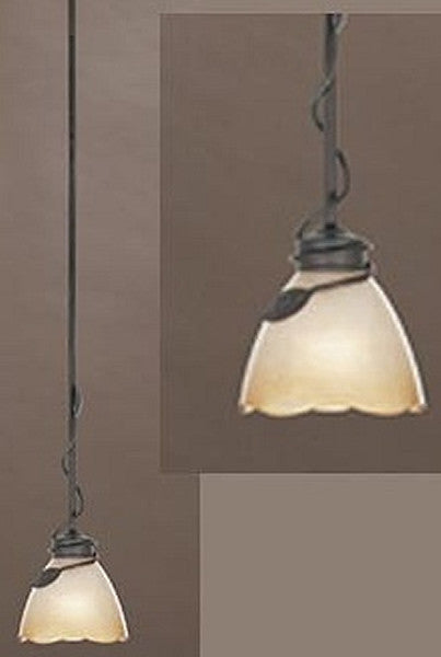 Designers Fountain Timberline 1-Light Mini Pendant Old Bronze 95630OB