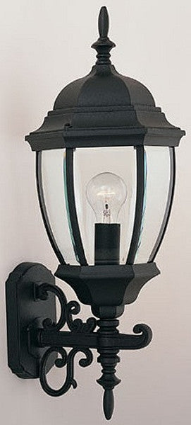 "24""h Tiverton Outdoor Wall Lantern Black"