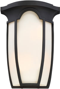 Tudor Row 2-Light Wall Sconce Black