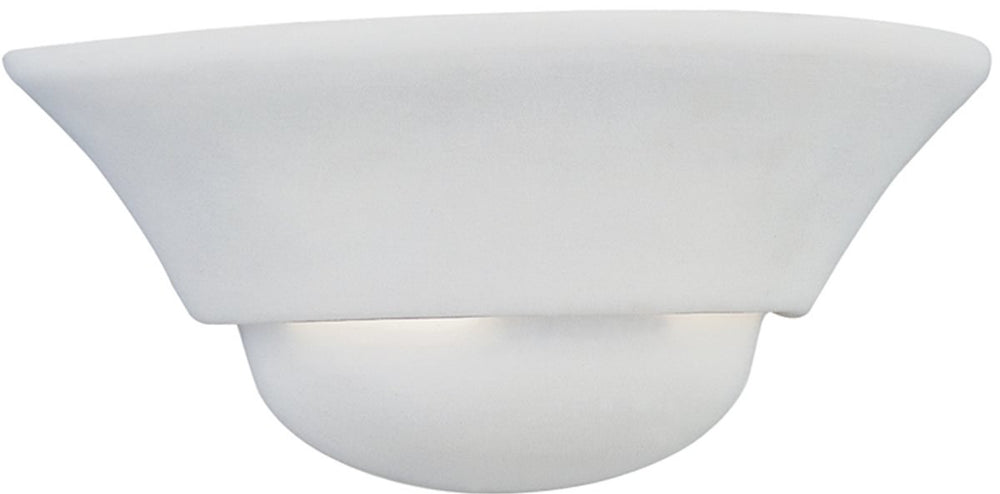 "12""W 1-Light Wall Sconce White"