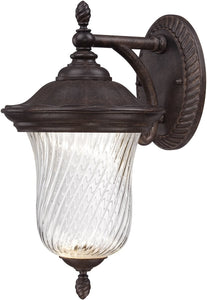 "12""h Wellington LED Outdoor Wall Lantern Mystic Bronze"