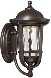 Designers Fountain Westbrooke -Light Outdoor Post Light Aged Bronze Patina LED34431-ABP