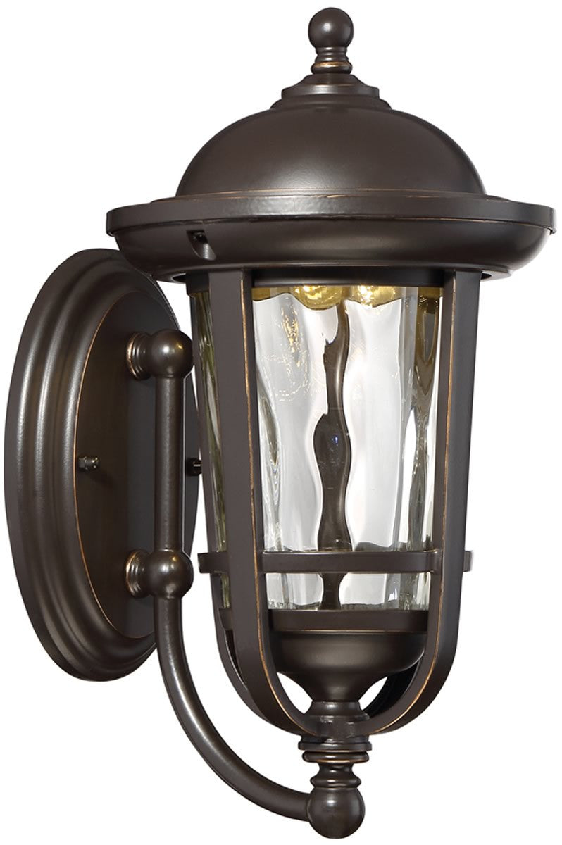 "12""H Westbrooke -Light Outdoor Wall Light Aged Bronze Patina"