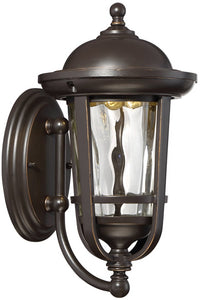 Designers Fountain Westbrooke -Light Outdoor Wall Light Aged Bronze Patina LED34421-ABP