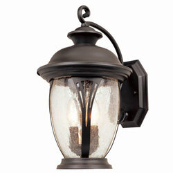 Designers Fountain Westchester Outdoor Wall Lantern Bronze 30521BZ