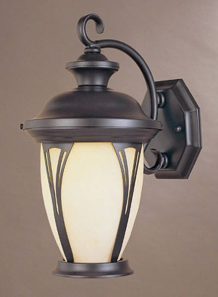 Designers Fountain Westchester 3-Light Wall Sconce Bronze with amber glass 30531AMBZ