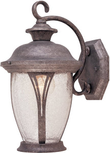 Designers Fountain 7 inchw Westchester 1-Light Wall Lantern Rustic Silver 30511RS