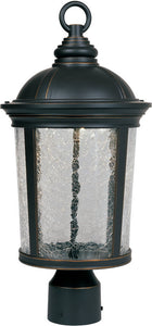 Designers Fountain Winston Post Lantern Aged Bronzed Patina LED21346ABP