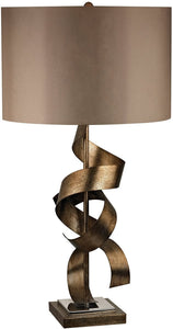 Dimond Allen 1-Light 3-Way LED Table Lamp Roxford Gold D2688-LED