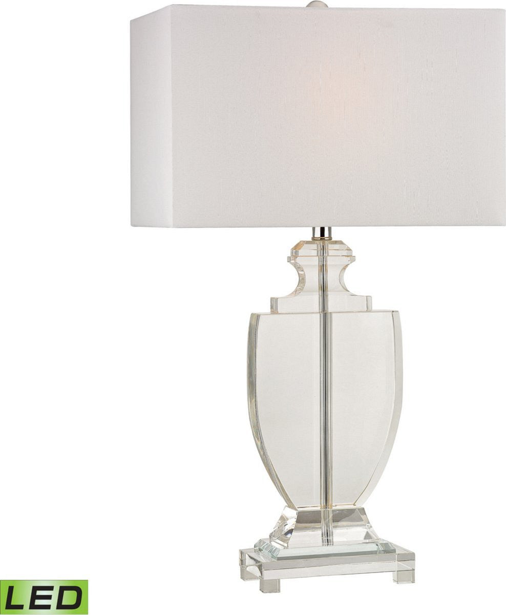 Avonmead 1-Light LED Table Lamp Clear