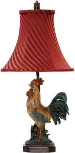 Dimond Crowning Rooster 1-Light Table Lamp 91344